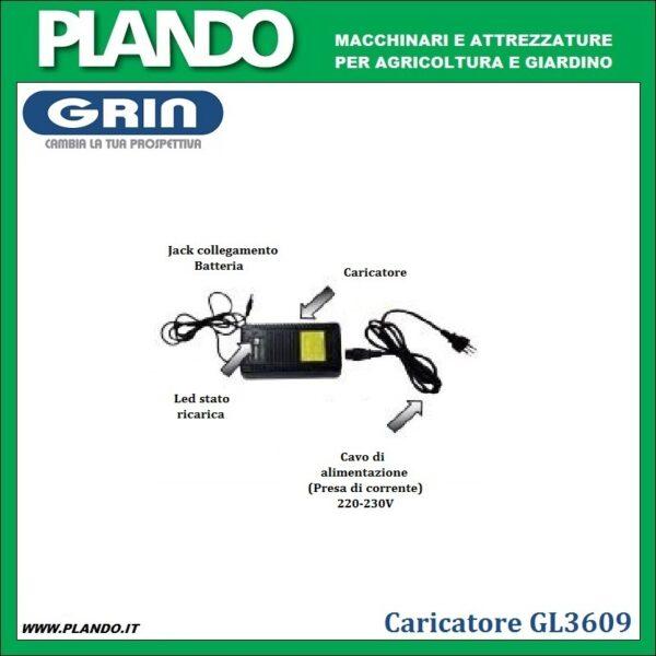 Caricabatteria per GL3609
