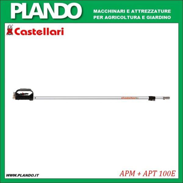 Castellari maniglia APM + asta APT 100E