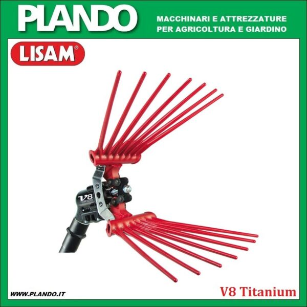 Lisam V8 Titanium