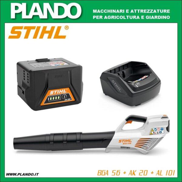 STIHL HSA 56 con AK 10 + AL 101