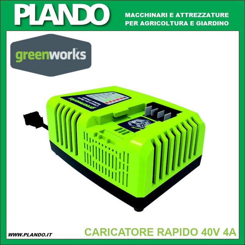 Greenworks CARICATORE RAPIDO 40V 4A
