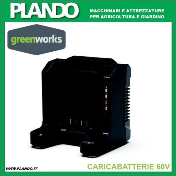 Greenworks CARICABATTERIE 60V