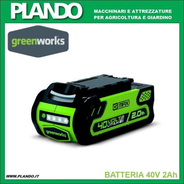Greenworks BATTERIA 40V 2Ah