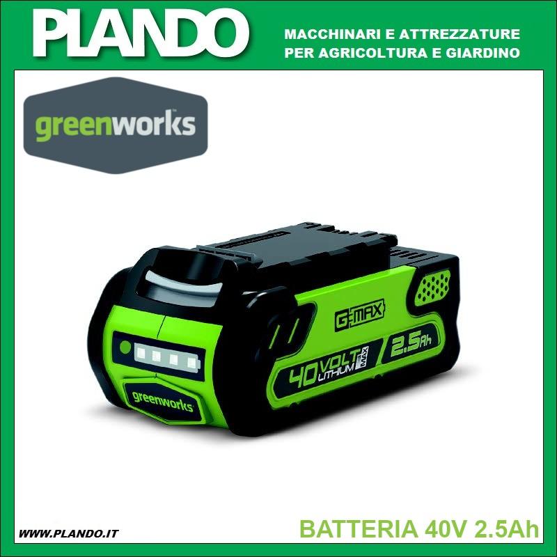 Greenworks BATTERIA 40V 2.5Ah
