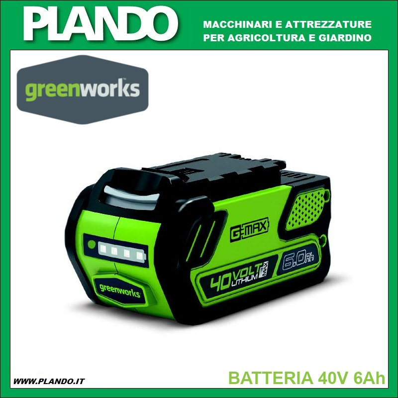 Greenworks BATTERIA 40V 6Ah