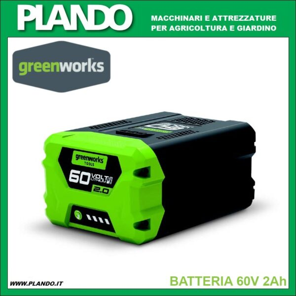 Greenworks BATTERIA 60V 2Ah