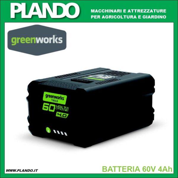 Greenworks BATTERIA 60V 4Ah