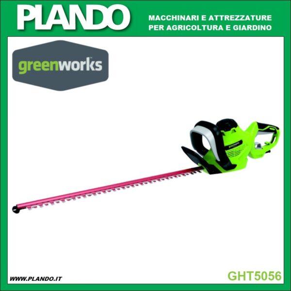 Greenworks TAGLIASIEPI ELETTRICO 500 W 56 cm
