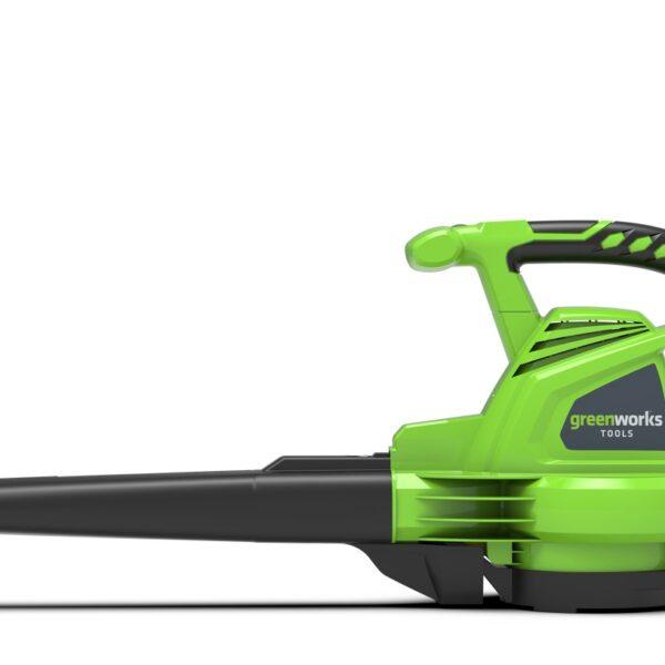 Greenworks SOFFIATORE/ASPIRATORE ELETTRICO 2800 W