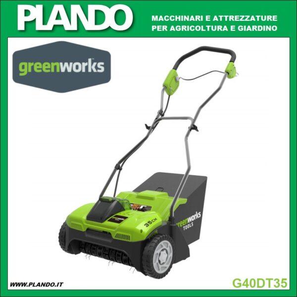 Greenworks ARIEGGIATORE A BATTERIA 40V