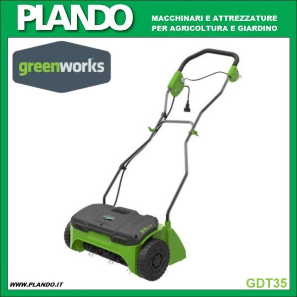 Greenworks ARIEGGIATORE ELETTRICO 1200W
