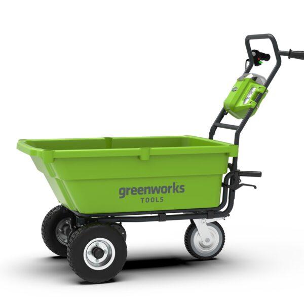 Greenworks CARRIOLA SEMOVENTE A BATTERIA 40V