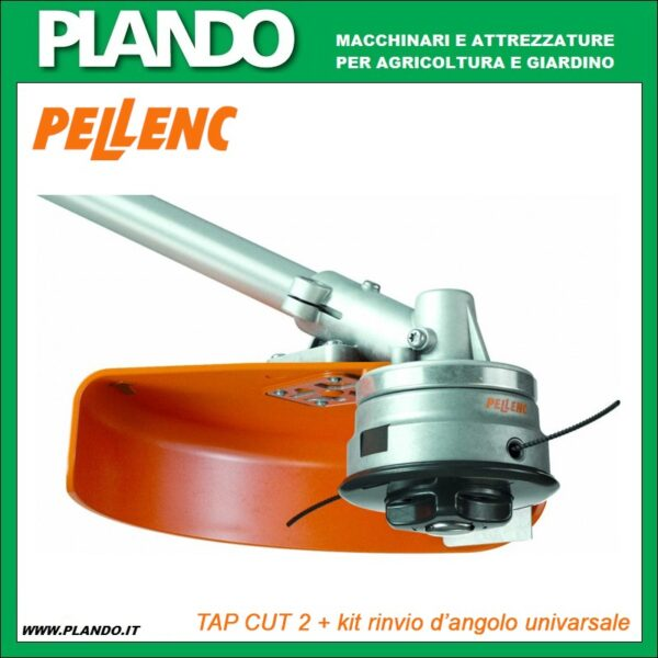 Pellenc Testina Excelion TAP CUT 2 + kit rinvio d'angolo universale