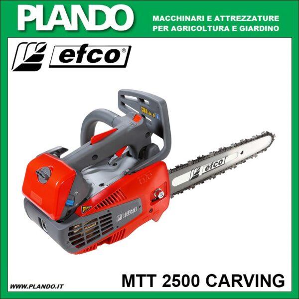 Efco MTT 2500 Carving