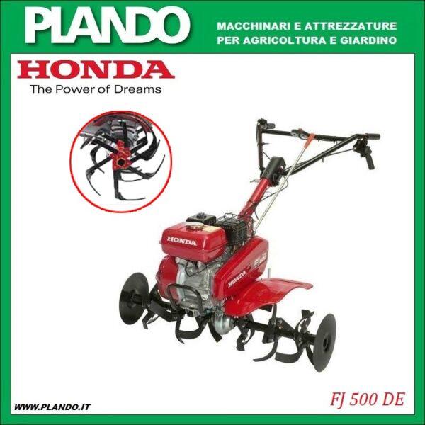 Honda FJ 500 DE con fresa miracolo
