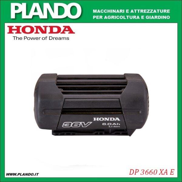 Honda DP 3660 XA E - Batteria 6 Ah