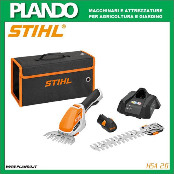 Rifinitore STIHL HSA 26