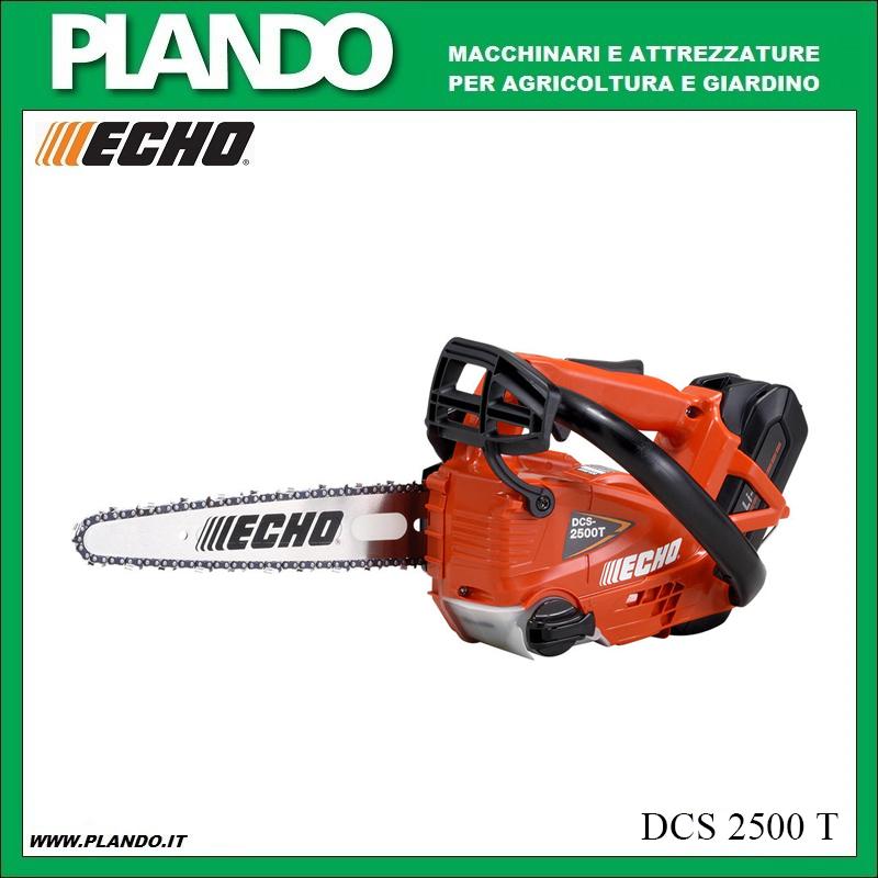 Motosega a batteria da potatura DCS2500T